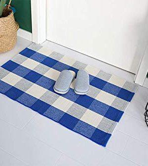 Buffalo Rug Outdoor Indoor Cotton Door Mat Check Plaid Rug For Living Room Kitchen 2x3 0 4 300x335