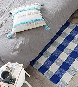 Buffalo Rug Outdoor Indoor Cotton Door Mat Check Plaid Rug For Living Room Kitchen 2x3 0 5 300x335