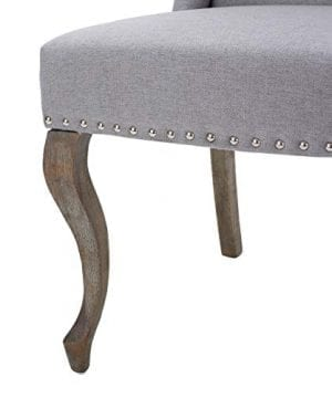 Christopher Knight Home Asheville Button Tufted Fabric Chair Light Grey 0 1 300x360