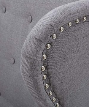Christopher Knight Home Asheville Button Tufted Fabric Chair Light Grey 0 3 300x360