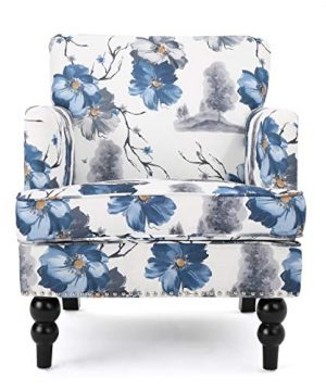 Christopher Knight Home Boaz Arm Chair Floral Print 0 300x360