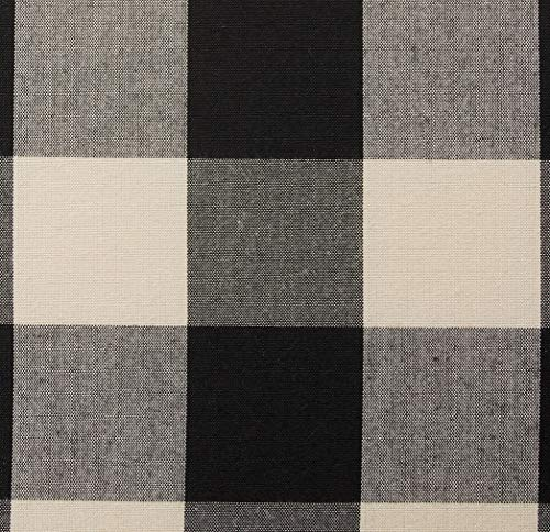 Christopher Knight Home Evete Tufted Fabric Club Chair Black Checkerboard 0 3