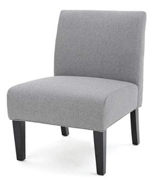 Christopher Knight Home Kendal Grey Fabric Accent Chair One 0 300x360