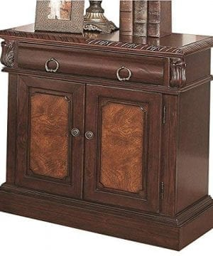 Coaster Home Furnishings Grand Prado 2 Door Nightstand Cappuccino 0 300x360