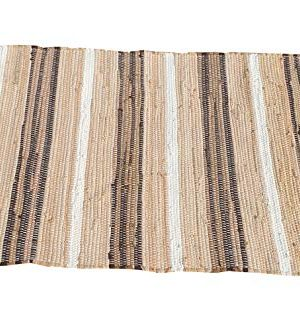 Cotton Multi Chindi Stripe Rugs 24x36 Inch LinenWhite ColorCotton Area RugsIndoor Out Door Rugs 2x3Rugs For Living Room Machine Washable RugsHand Woven Kitchen Entryway Rug 0 2 300x327