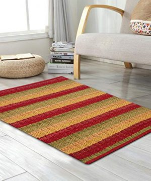 Cotton Rag Rugs 2x3 Red Combo In Diamond Weave StripeCotton Area RugsIndoor Out Door Rugs 2x3Rugs For Living Room Machine Washable RugsHand Woven Kitchen Entryway RugFarmhouse Rug 0 300x360