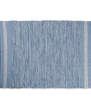 DII VARIEGATED RECYCLED YARN 2x3 FT Rug Blue Varigated 0 300x360