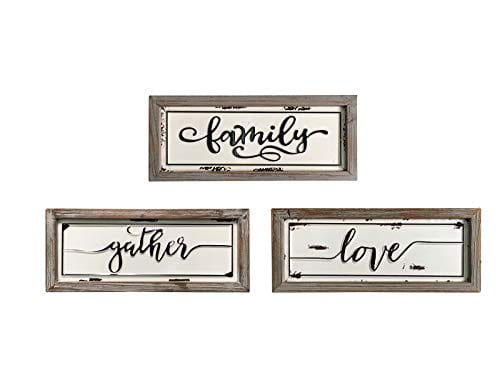 Family Double Home Hanging Plaque Decorative Sign Wall Hanging Picture