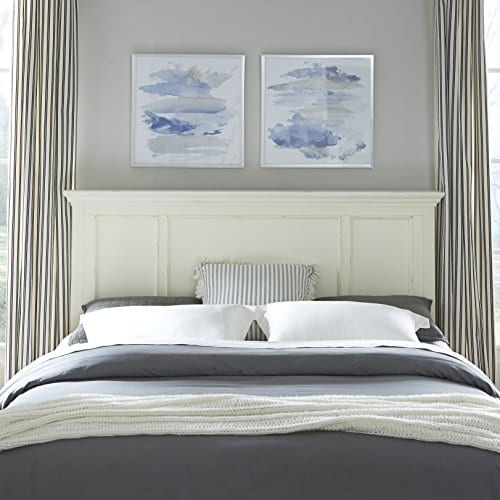 Dover White Queen Headboard By Home Styles 0 0