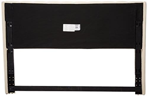 Eastern King California King Murrieta Headboard With Button Tufting Beige 0 0