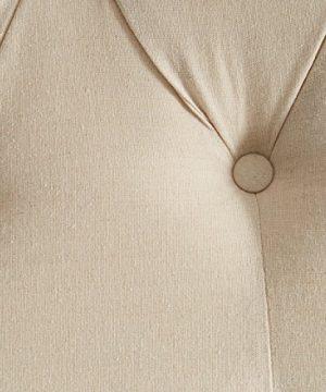 Eastern King California King Murrieta Headboard With Button Tufting Beige 0 2 300x360