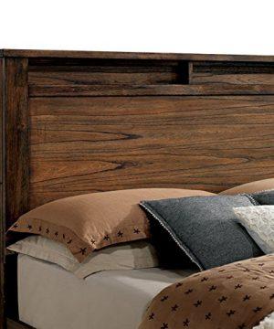 Elkton Oak Finish King Size 6 Piece Bedroom Set 0 1 300x360