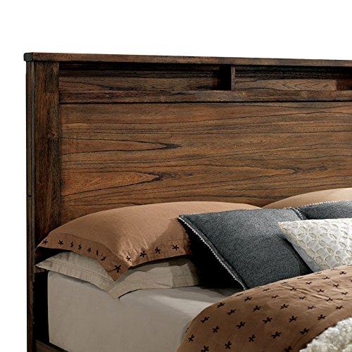 Elkton Oak Finish King Size 6 Piece Bedroom Set 0 1