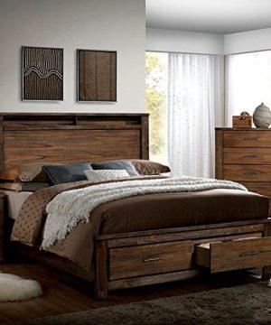 Elkton Oak Finish King Size 6 Piece Bedroom Set 0 300x360