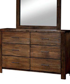 Elkton Oak Finish King Size 6 Piece Bedroom Set 0 4 300x360