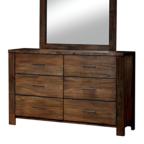 Elkton Oak Finish King Size 6 Piece Bedroom Set 0 4