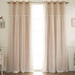 Floral Blackout Thermal Grommet Curtain Panels 28Set Of 2 29