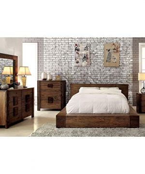 Furniture Of America Shaylen I Rustic 4 Piece Natural Tone Low Profile Bedroom Set California King 0 0 300x360