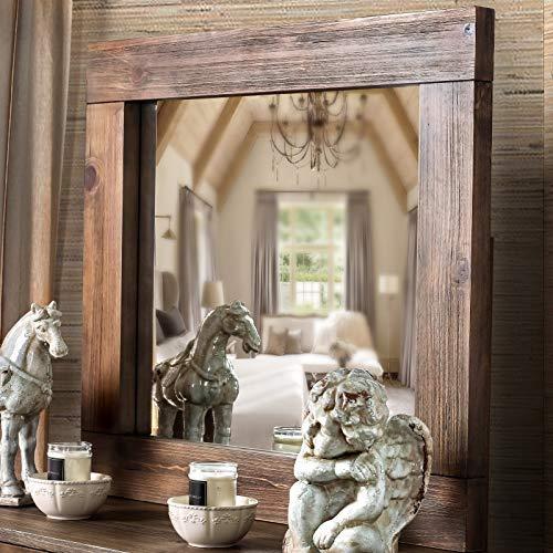 Furniture Of America Shaylen I Rustic 4 Piece Natural Tone Low Profile Bedroom Set California King 0 3