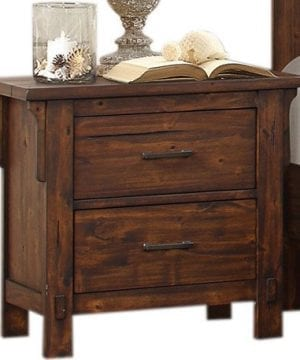 HEFX Thomasville Rustic Burnished Oak Nightstand 0 300x360