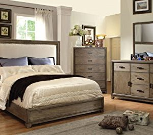 Homes Inside Out 3 Piece Iohomes Bellamy Rustic Bed Set Queen