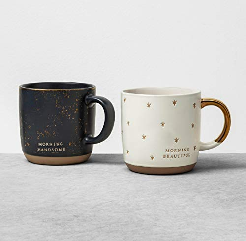Hearth And Hand With Magnolia Morning Handsome Morning Beautiful Mug Set 0