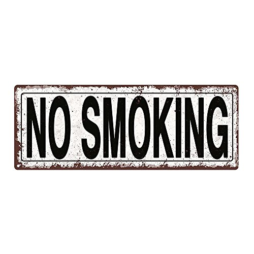 Homebody Accents TM No Smoking Metal Street Sign Rustic Vintage 0