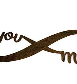 Infinity Naturally Rusted Steel Word Art 18 Inches 0 1 300x328