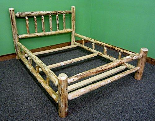 Midwest Log Furniture Rustic Log Bedroom Suite King 5pc 0 0