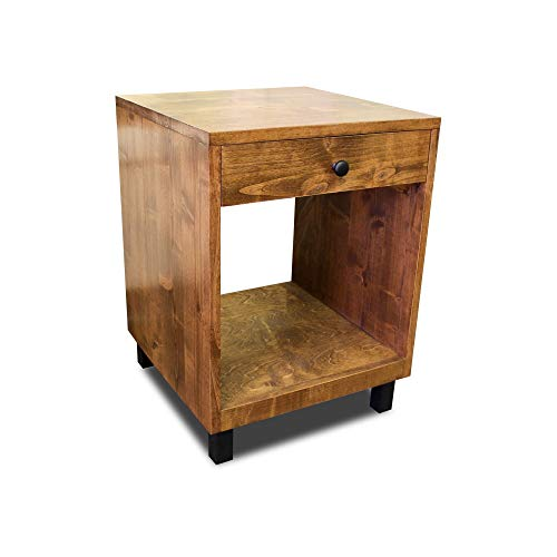 Modern And Rustic Nightstand 0 0