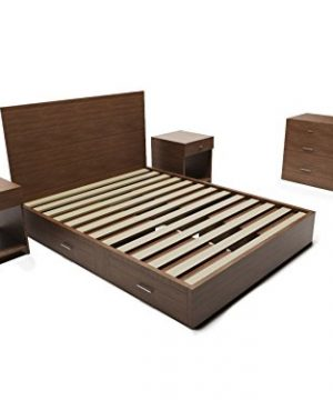 Modern And Rustic Storage 5 Piece Bedroom Set 0 300x360