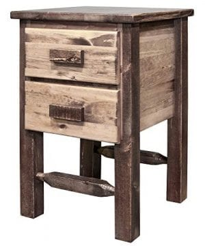 Montana Woodworks Homestead Collection Nightstand Stain Clear Lacquer Finish 0 0 300x360
