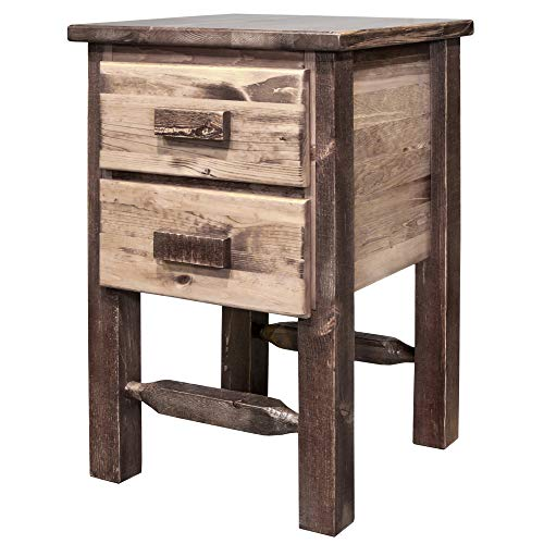 Montana Woodworks Homestead Collection Nightstand Stain Clear Lacquer Finish 0 0