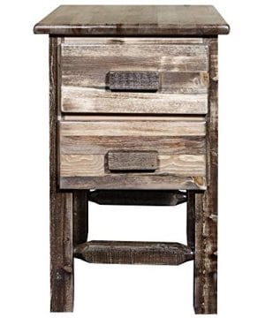 Montana Woodworks Homestead Collection Nightstand Stain Clear Lacquer Finish 0 1 300x360