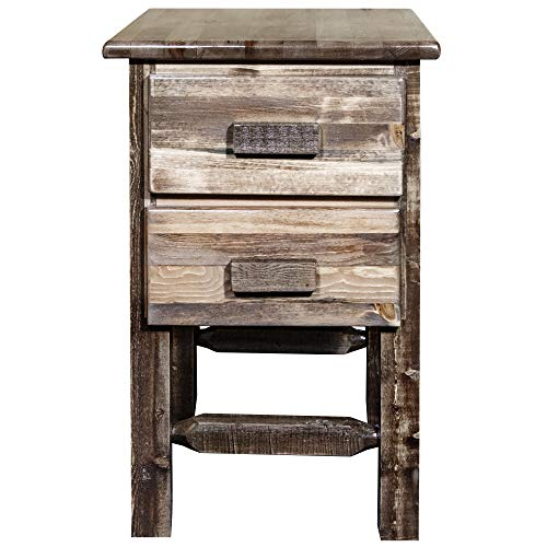 Montana Woodworks Homestead Collection Nightstand Stain Clear Lacquer Finish 0 1