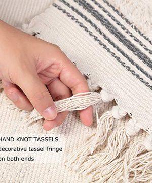 Moroccan Bathroom Rugs Small Fringe Rug Tribal Rug 2x3 Woven Boho Bath Mat Tassels 0 2 300x360