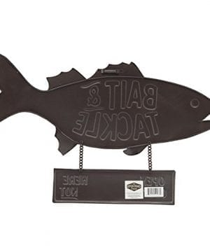 Open Road Brands Fish Bait And Tackle CloseOpen Rustic Tin Metal Wall Art An Officially Licensed Product Great Addition To Add What You Love To Your HomeGarage Decor 0 1 300x360