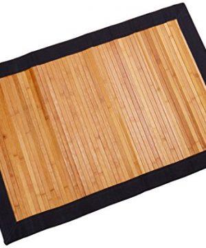 Oriental Furniture Bamboo Rug Burnt Bamboo 2 X 3 0 300x360