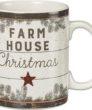 Primitives By Kathy Mug Christmas On The Farm Farmhouse Christmas 0 0 300x360