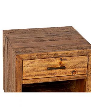 Reclaimed Pine One Drawer Nightstand 0 0 300x360