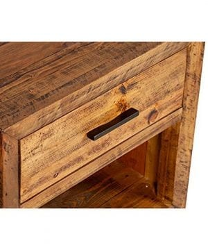 Reclaimed Pine One Drawer Nightstand 0 1 300x360