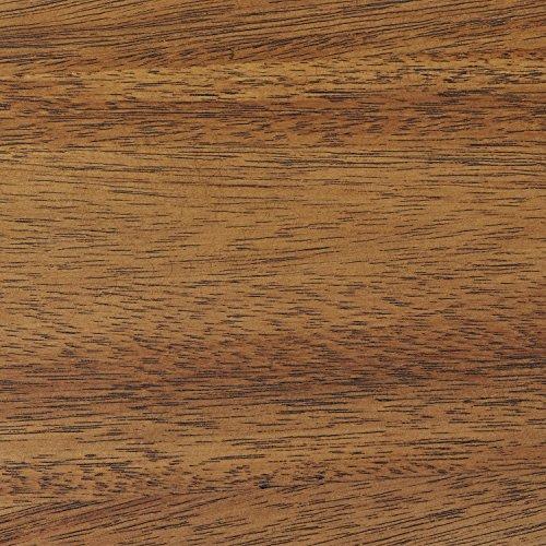 Rivet Mid Century Modern Industrial Geometric Carved Wood Bedroom Nightstand 24 Brown Black Metal 0 3