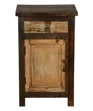 Rustic Solid Reclaimed Wooden Modern Antique Handmade Bedside 0 0 300x360