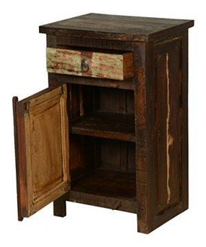 Rustic Solid Reclaimed Wooden Modern Antique Handmade Bedside 0 2 300x360