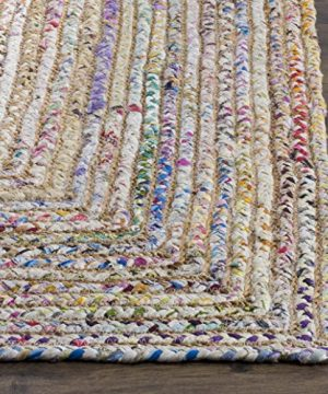 Safavieh Cape Cod Collection CAP202B Hand Woven Jute Cotton Area Rug 2 X 3 BeigeMulti 0 0 300x360