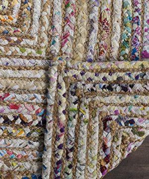 Safavieh Cape Cod Collection CAP202B Hand Woven Jute Cotton Area Rug 2 X 3 BeigeMulti 0 1 300x360
