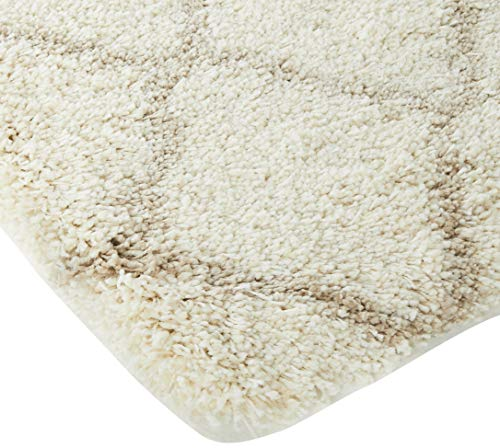 Safavieh Hudson Shag Collection SGH283D Ivory And Beige Moroccan Geometric Area Rug 2 X 3 0 0