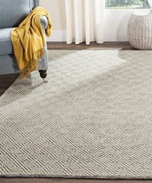 Safavieh Natura Collection NAT503A Hand Woven Area Rug 2 X 3 IvoryLight Grey 0 300x360