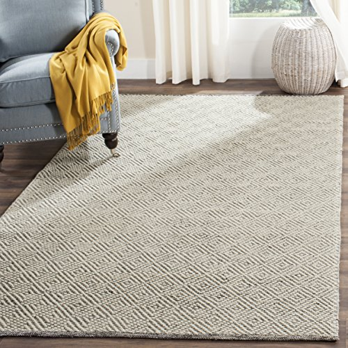Safavieh Natura Collection NAT503A Hand Woven Area Rug 2 X 3 IvoryLight Grey 0
