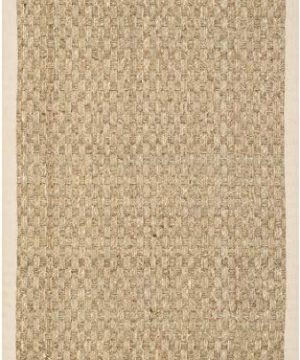Safavieh Natural Fiber Collection NF114A Basketweave Natural And Beige Summer Seagrass Area Rug 2 X 3 0 0 300x360
